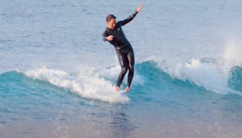 2×ロングボードグランドチャンピオン浜瀬海のGoProサーフィン映像 in 湘南