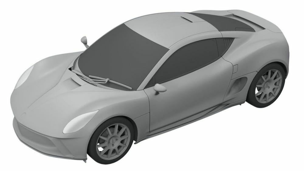 ヤマハが新型EVスポーツカーを開発中?!デザイン特許画像が流出