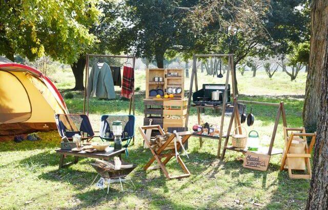 おうちキャンプでも木のぬくもりを感じる、DIYアイテムが揃う キャンプ用品店「モロックヴィレッジ」がオープン
