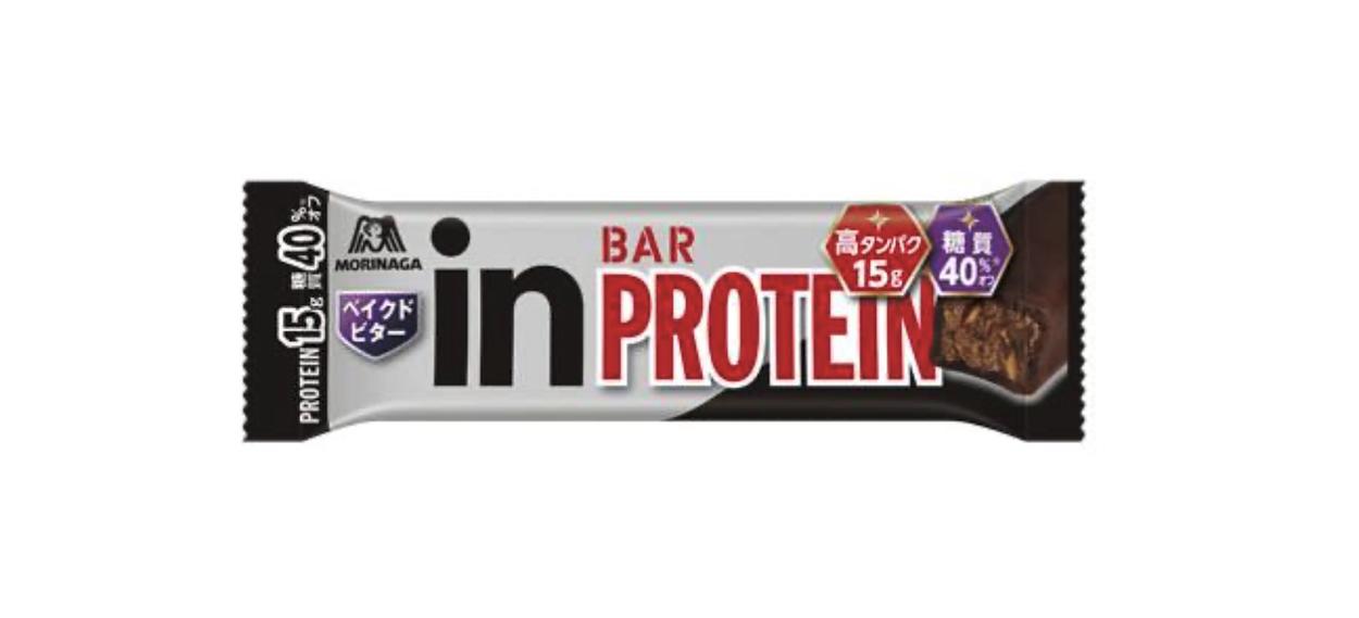 「inバープロテイン ベイクドビター」がリニューアル。タンパク質10gから15gへ増量