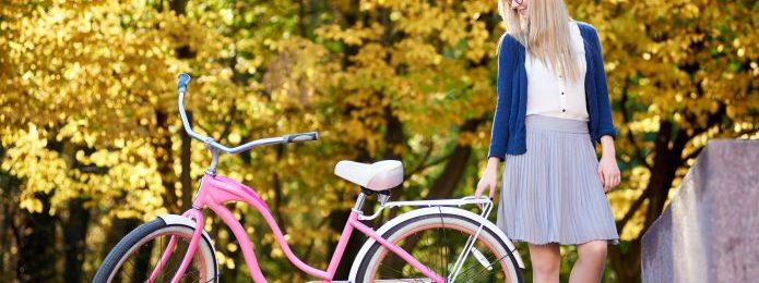 スカートで自転車に乗りたい!めくれない乗り方や、便利グッズまとめ