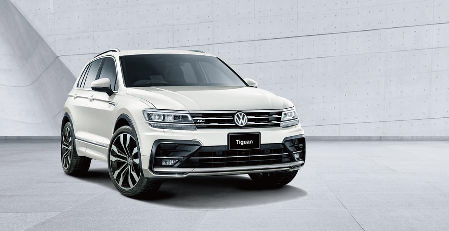 VWティグアンに高級オーディオ「ディナウディオ」搭載車とブラック基調の2つの特別仕様車が追加発売