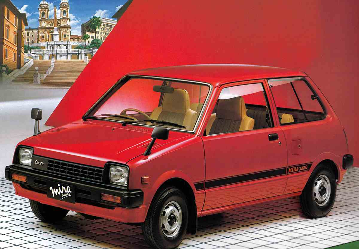 ダイハツデザイン5 - 時代が求める軽自動車スタイルを独自発想で提案