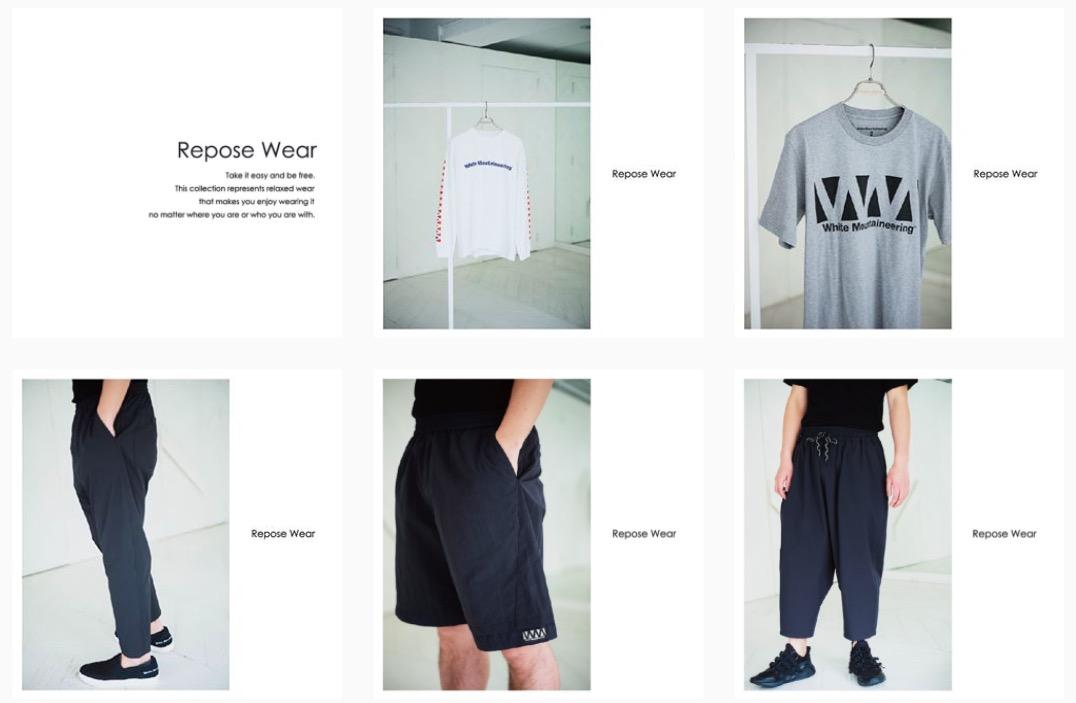 リラックス&清涼感ただようホワイトマウンテニアリングの新コレクションが、新宿伊勢丹店で発売開始。