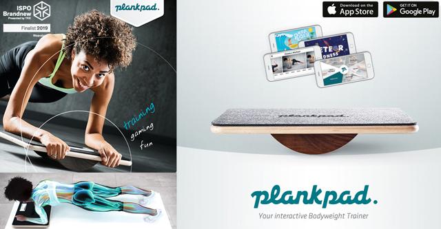 スマホアプリ連動型バランスボード「プランクパッド プロ」発売。体幹トレーニングゲームやワークアウトメニューが搭載