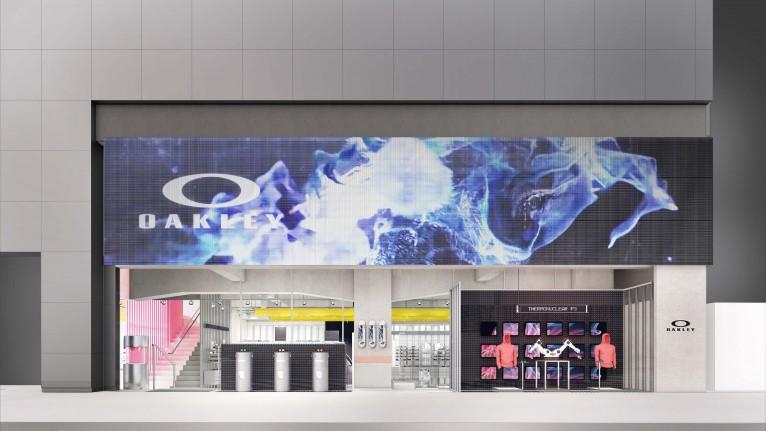 OAKLEY(オークリー)ブランド史上初となるグローバル旗艦店を6月5日(金)、渋谷にオープン。