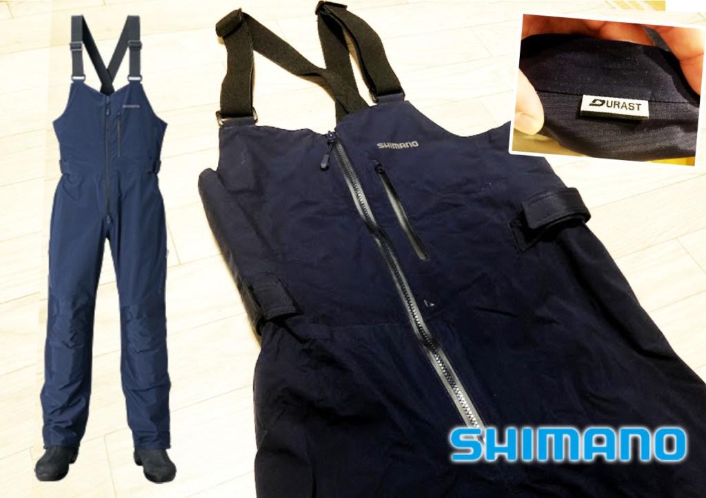 """濡れない、動きやすい、着心地がいい。シマノが考える""""釣り専用""""のパンツ「XEFO・DURASTレインビブ」。"""