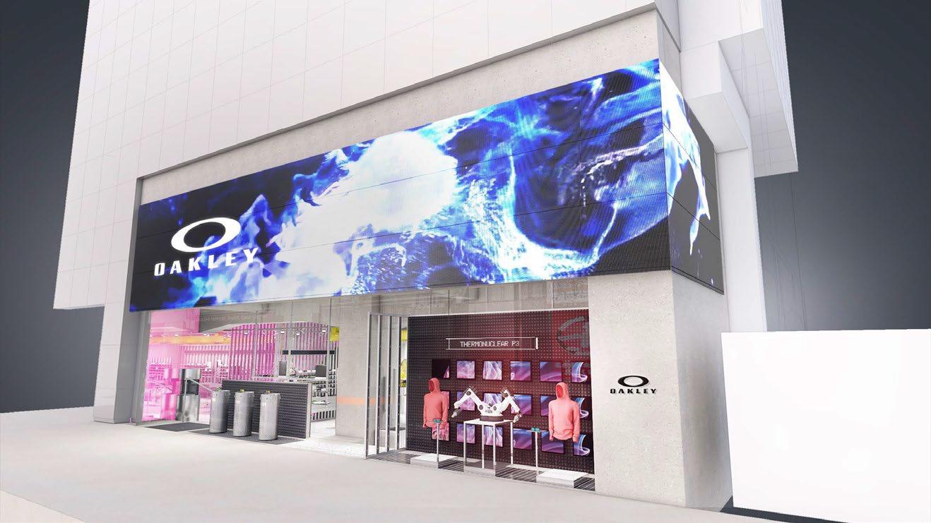 オークリーがブランド史上初となるグローバル旗艦店を渋谷にオープン