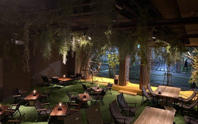 ほぼ野外!?都会にいながらコロナを気にせずキャンプ体験できる「REWILD OUTDOOR TOKYO」が茅場町に