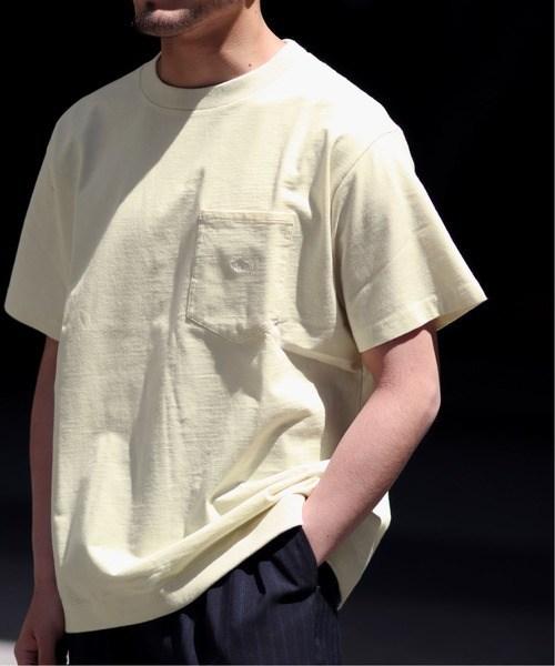 シンプルでも周りと差を付ける!ザ・ノースフェイスパープルレーベルの限定ポケットTシャツ