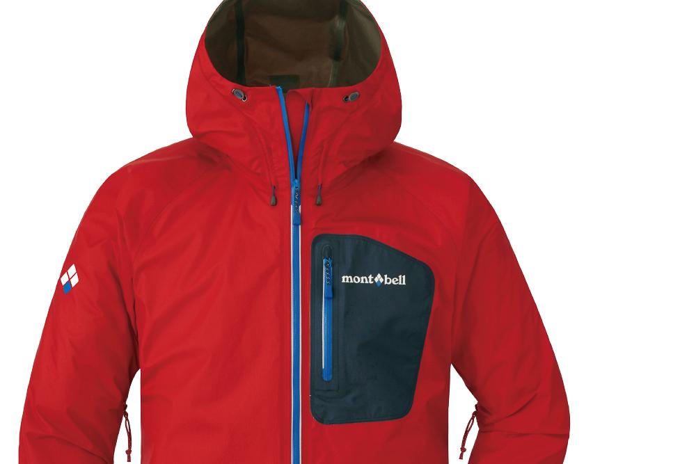 コスパ◎なモンベルの軽量レインジャケットが通気性アップ! 梅雨に頼れる一着に。