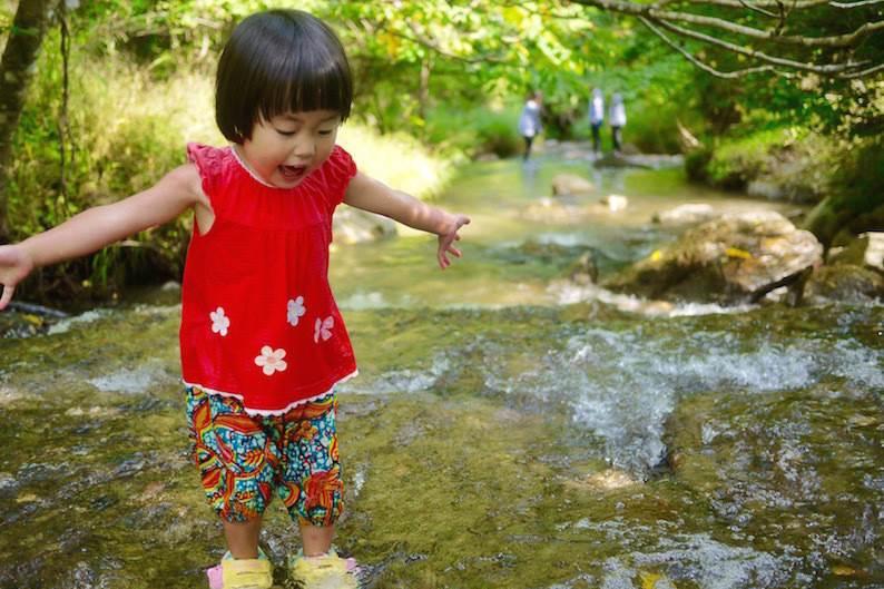 今年の夏は子どもと一緒に全力川遊び!