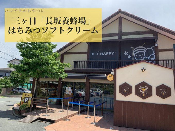 【長坂養蜂場】ハマイチのおやつに!ひんやり甘いはちみつソフトクリーム