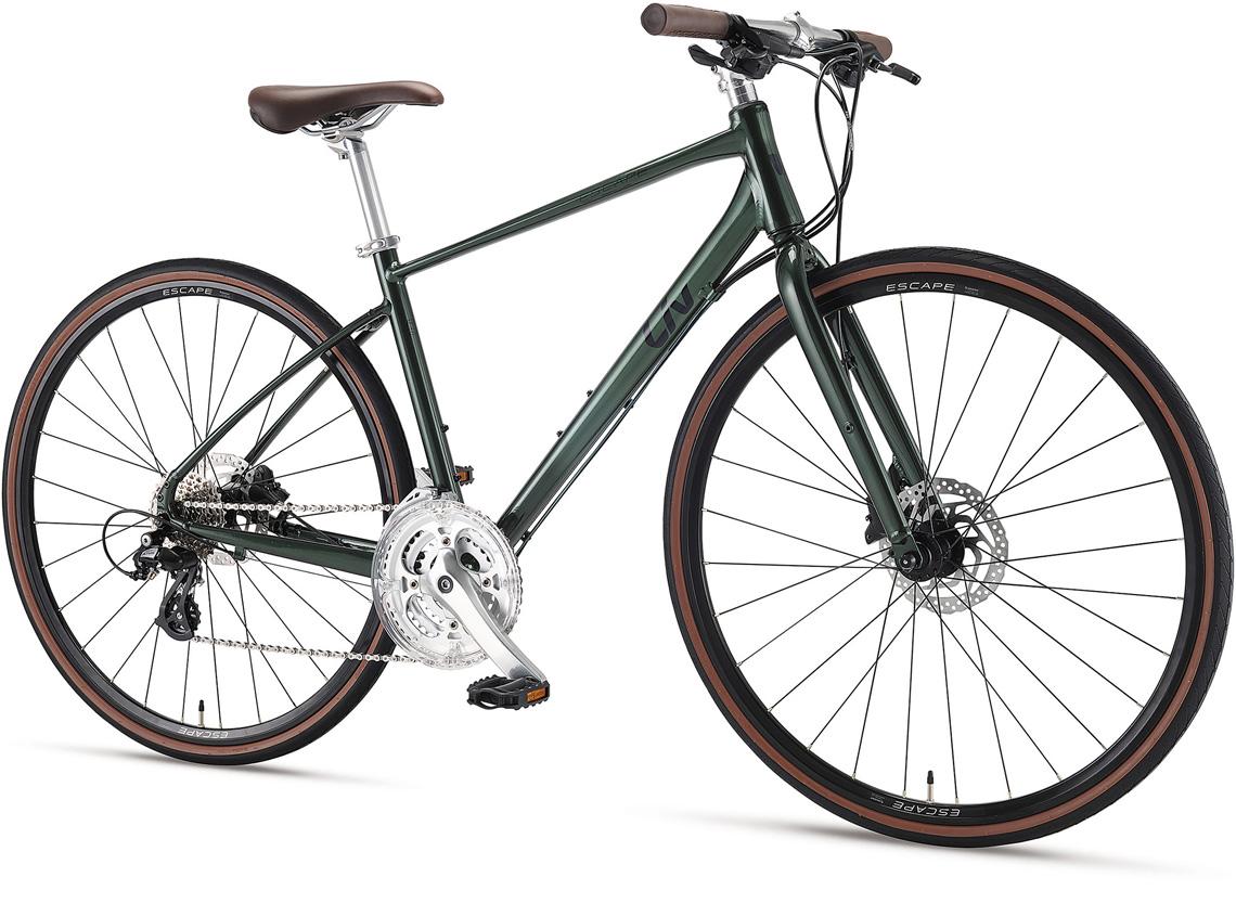 女性向け自転車ブランド「Liv」からクロスバイク「ESCAPE R Wシリーズ」の2021年モデルが登場