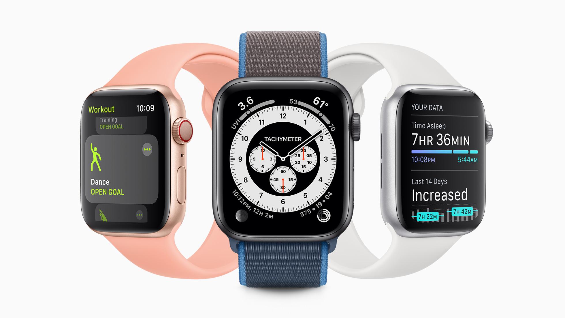 Apple Watchが進化、「watchOS 7」登場で新機能が明らかに。ワークアウトの種類追加、フィットネスに名称変更、手洗いチェック機能も搭載