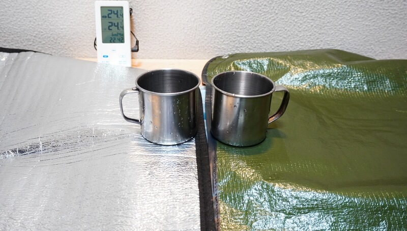 オールウェザーブランケットをレビュー【禁断】銀マットと断熱性を比較検証