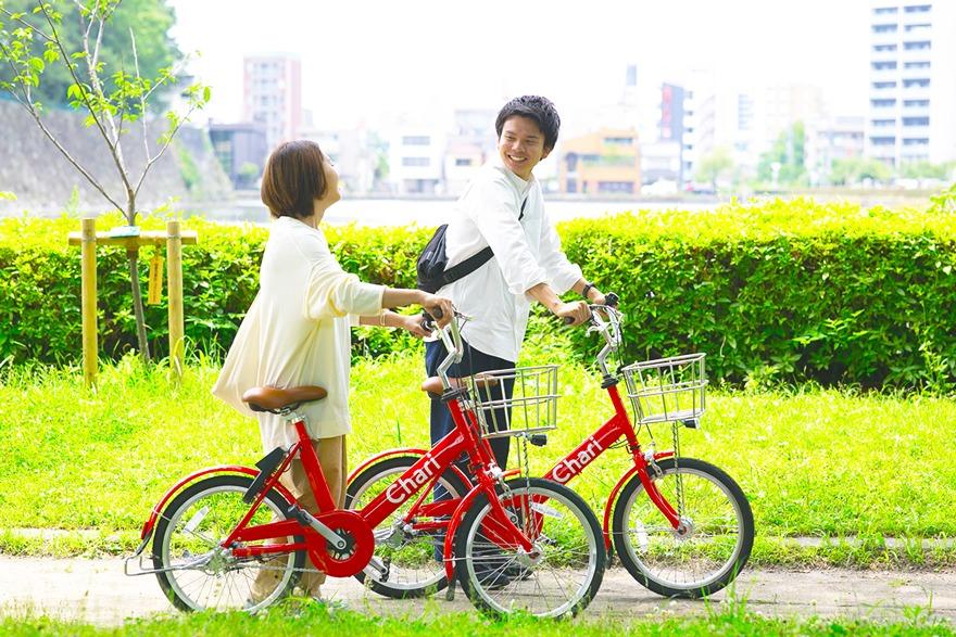 シェアサイクルサービス「Charichari(チャリチャリ)」が名古屋エリアで2020年7月中旬から開始