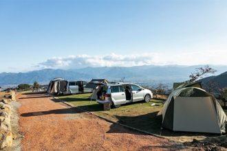 ほったらかしキャンプ場 大自然の中で絶景を楽しむ