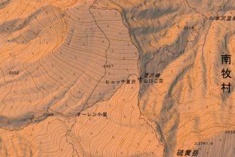 南八ヶ岳桜平から夏沢峠のルート・難易度