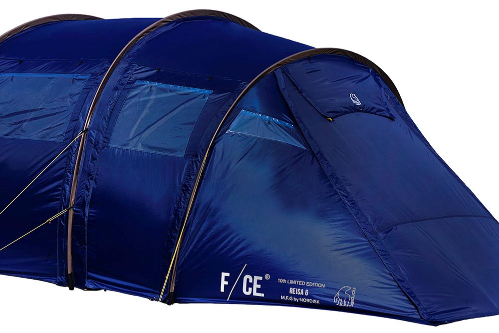 F/CE.×ノルディスク、話題のテントが発売間近!  英国情緒ただようネイビーカラーの限定レイサ。