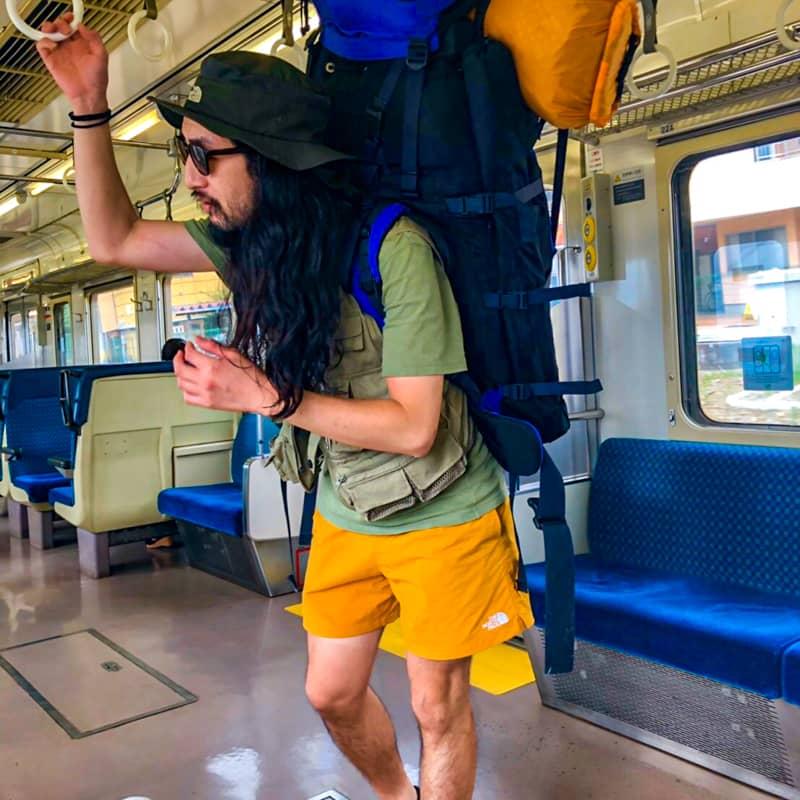 電車キャンプの持ち物を紹介!バックパックに厳選したギアで徒歩ソロキャンへ出発!