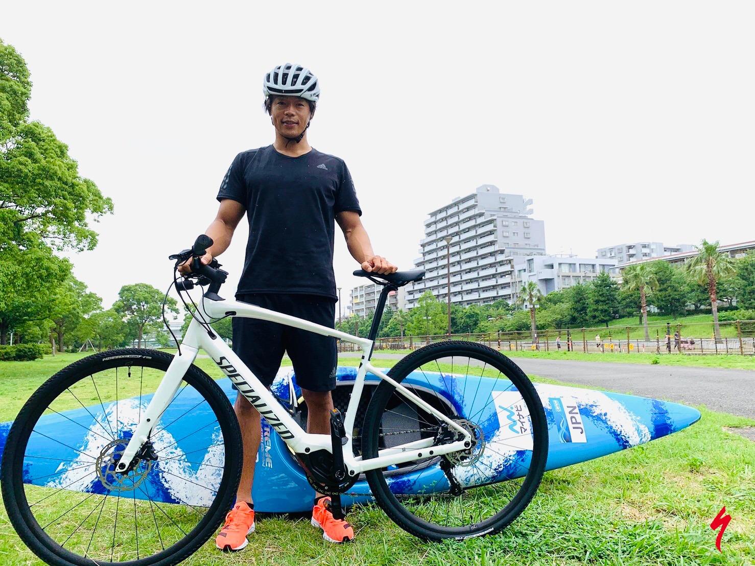 カヌースラローム日本代表銅メダリスト「羽根田卓也」がスペシャライズドとサプライヤー契約を締結