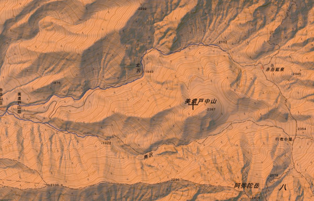 美濃戸からの赤岳鉱泉 行者小屋 登山ルート・難易度