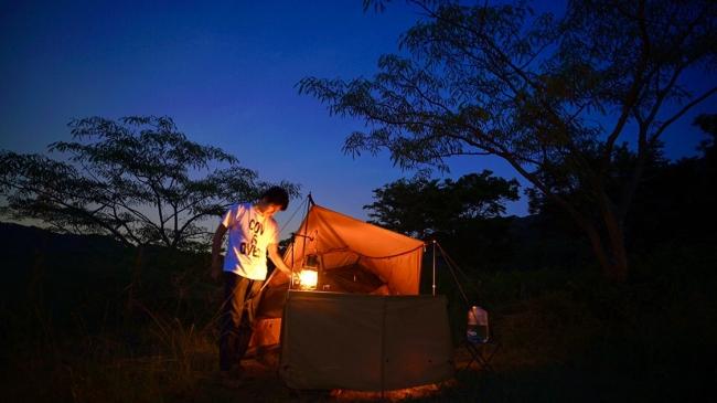 Tシャツを着て、キャンプ場に遊びにいこう!キャンプ場を応援するチャリティー企画がスタート!