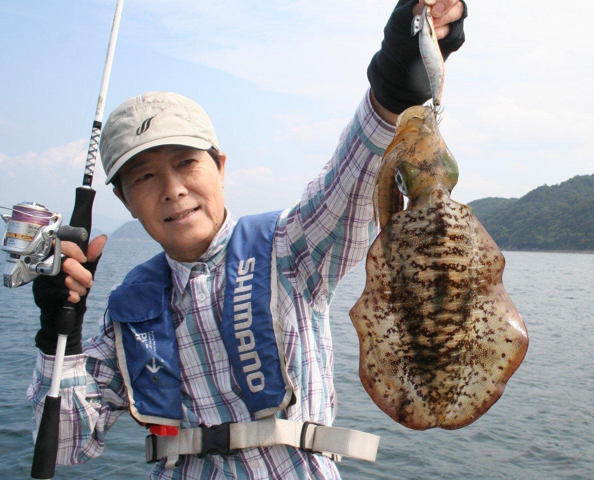 アオリイカを釣りに行こう!バーチカルエギングでのアオリイカの釣り方やタックル、食べ方までご紹介します!