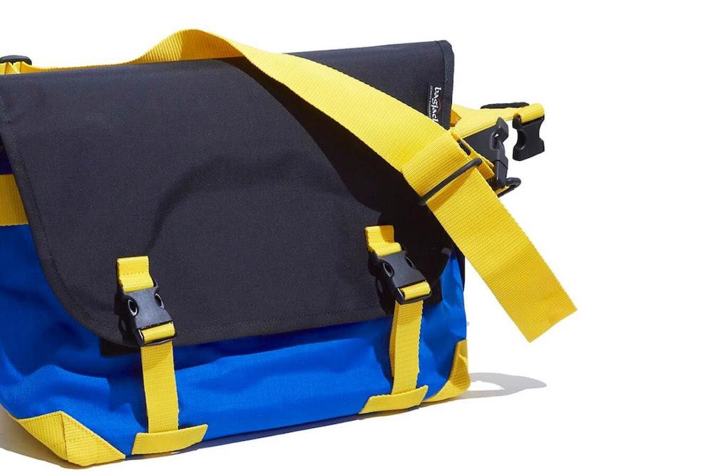 バッグジャックの名作メッセンジャーバッグを、気鋭の古着屋タッグが別注! 夏キブンなマルチカラーに。