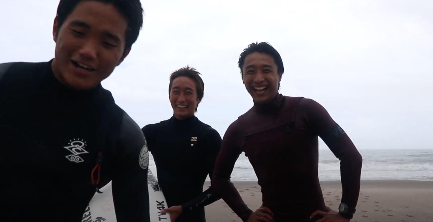 【SURFTRIP】安室丈と村田嵐が大音凛太を訪ねる1泊2日の夏休みトリップDAY1