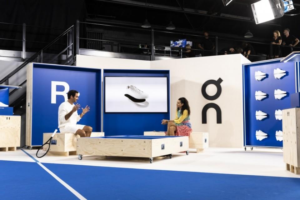 テニスの皇帝「ロジャー・フェデラー」と共に「Roger Live」を実施 - 共同開発した世界で限定1000足の新作スニーカー「THE ROGER Centre Court 0- Series」をお披露目-