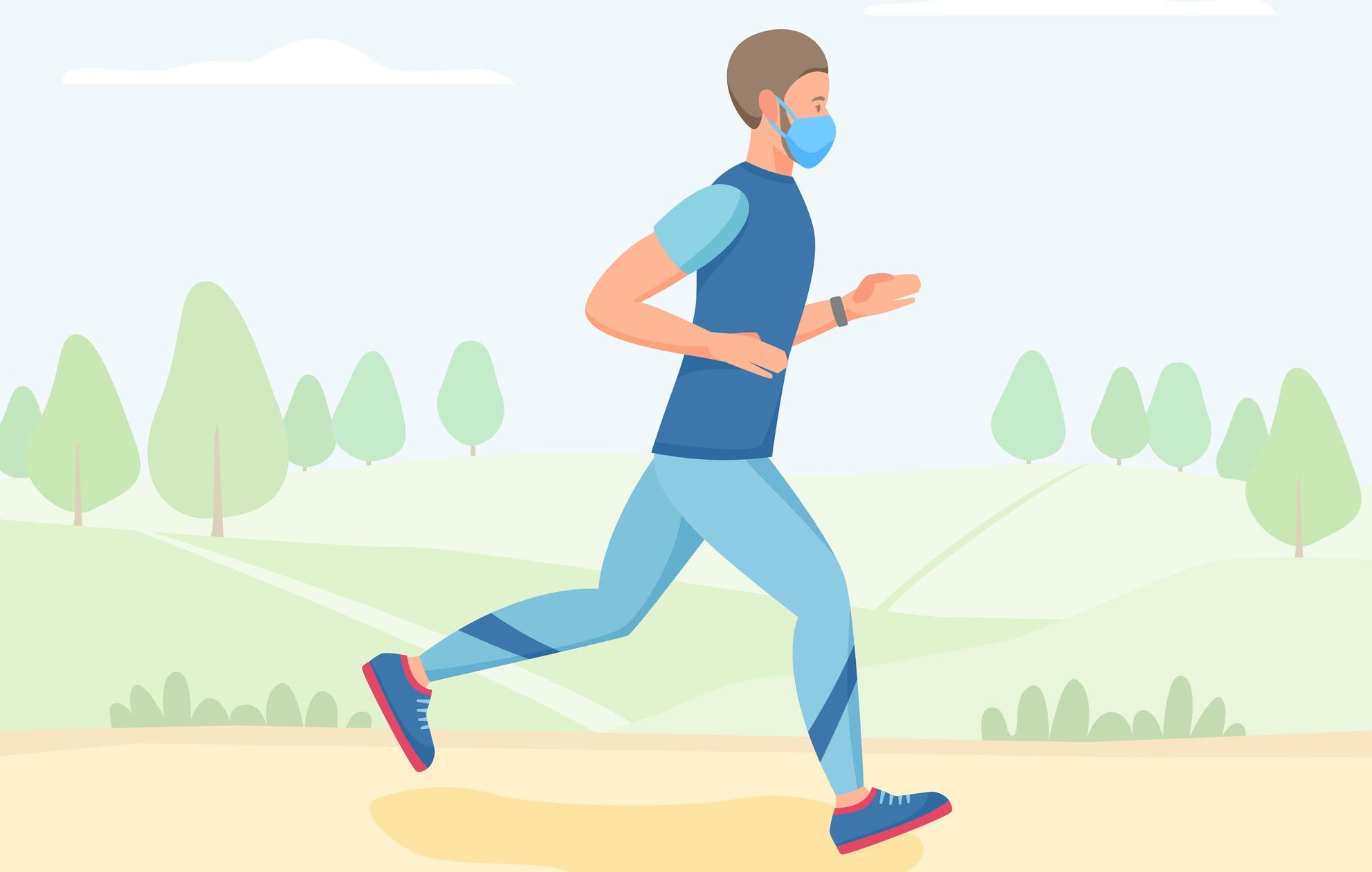 「屋外運動時のマスクは推奨しない」。日本臨床スポーツ医学会と日本臨床運動療法学会が共同声明文