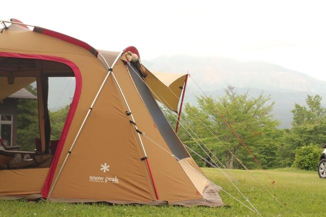 トルテュライトでガチ雨キャンプ