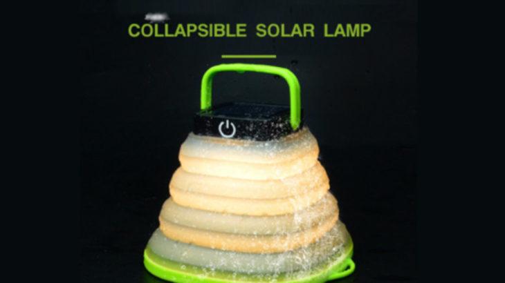 ソーラーLEDライト「令和時代のあんどん」は防災袋の新たな必須アイテム !