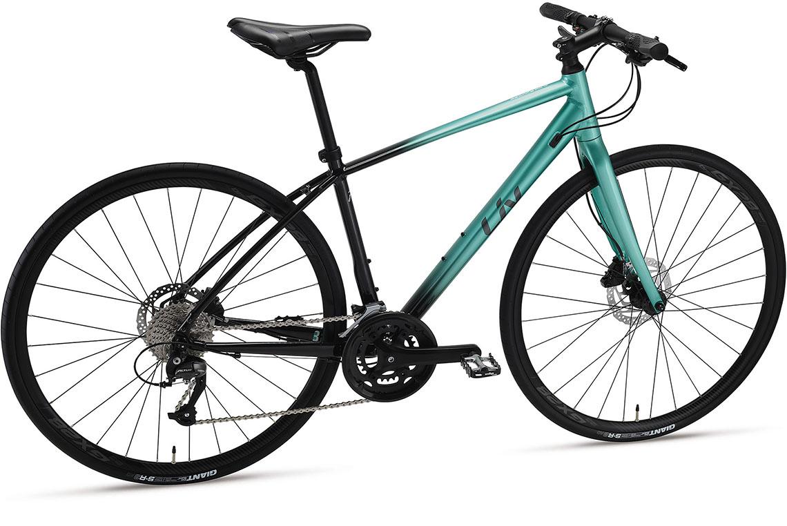女性向け自転車ブランド「Liv」のスポーツクロスバイク「Escape RX W」2021年モデルが登場