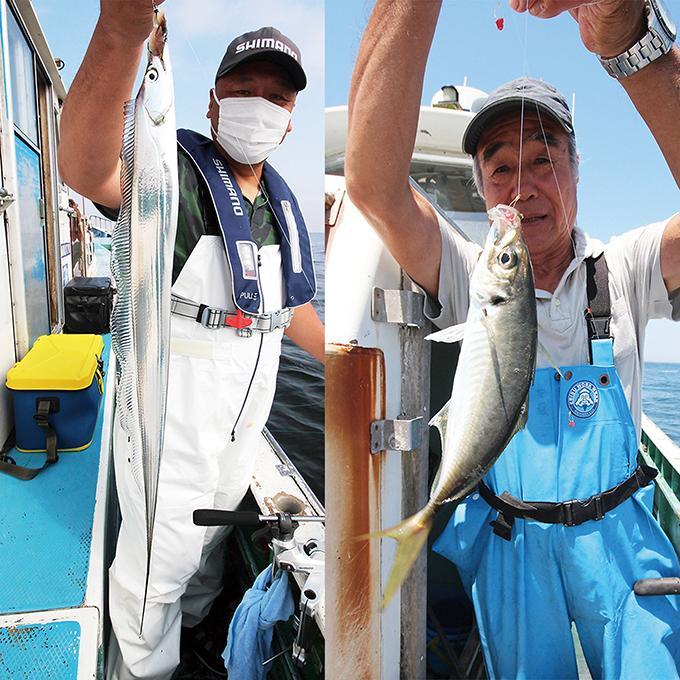 最高潮!人気2魚種のリレー釣り!東京湾タチウオ&アジ!