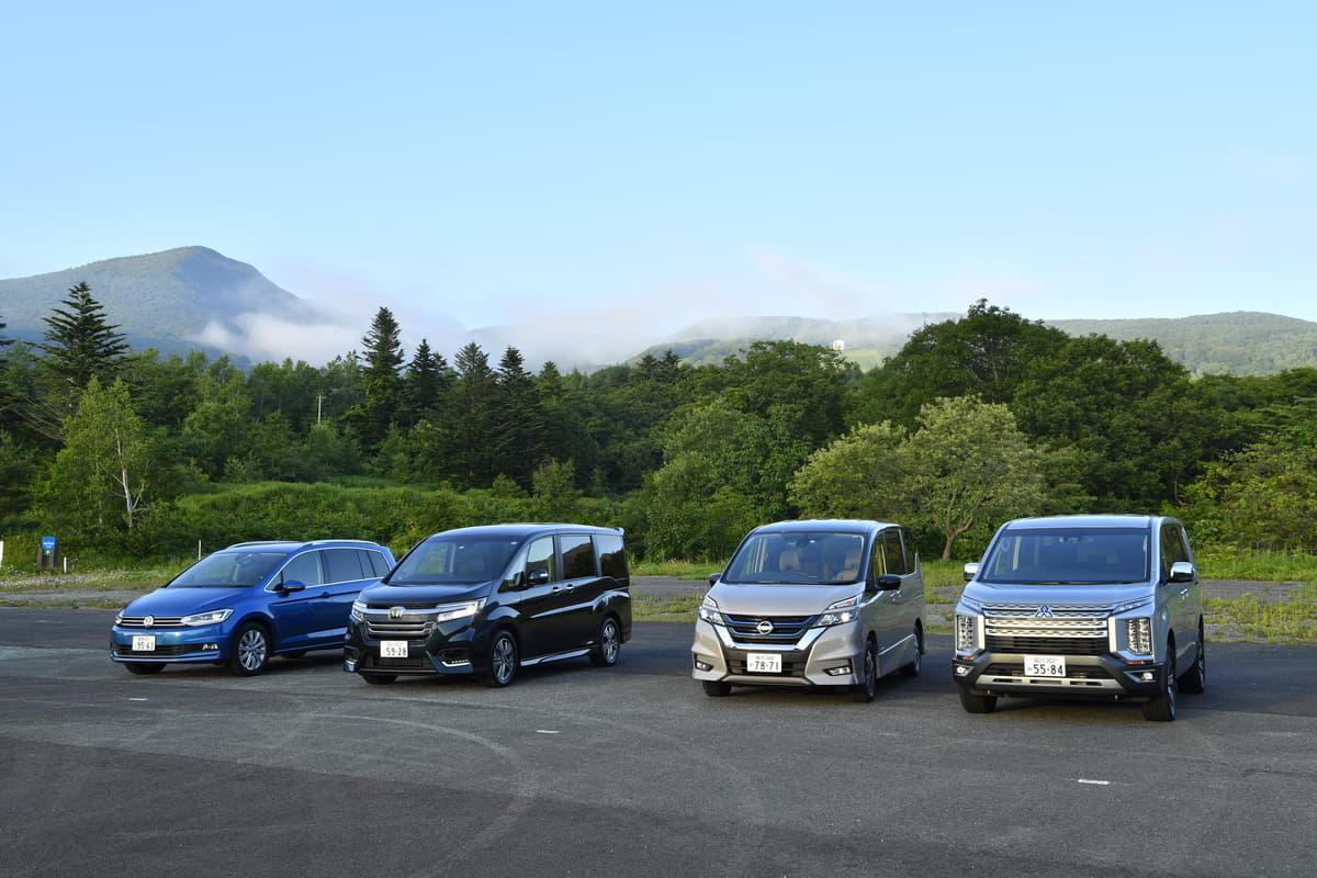 「クルマ選び」で「キャンプ」は変わる! 同じに見えるライバル車でも「違う」アウトドア向け車種の選び方とは