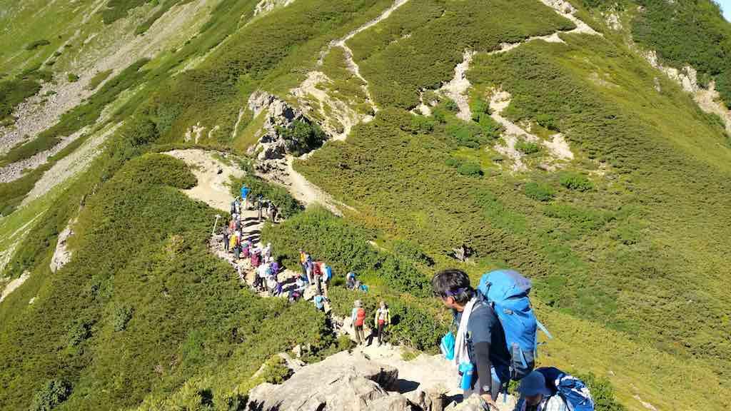 登り優先 – 岩崎元郎の山談義