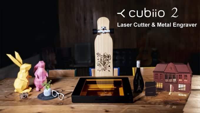 名前の刻印や製品のカットなど多様な用途で使えるレーザーカッター「Cubiio 2」