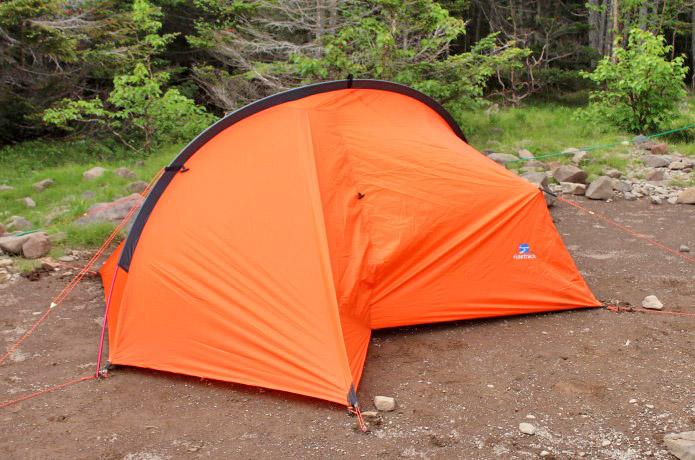 これは新しい!!テントとツェルトが融合したファイントラック「カミナモノポール」の実力を試してみた