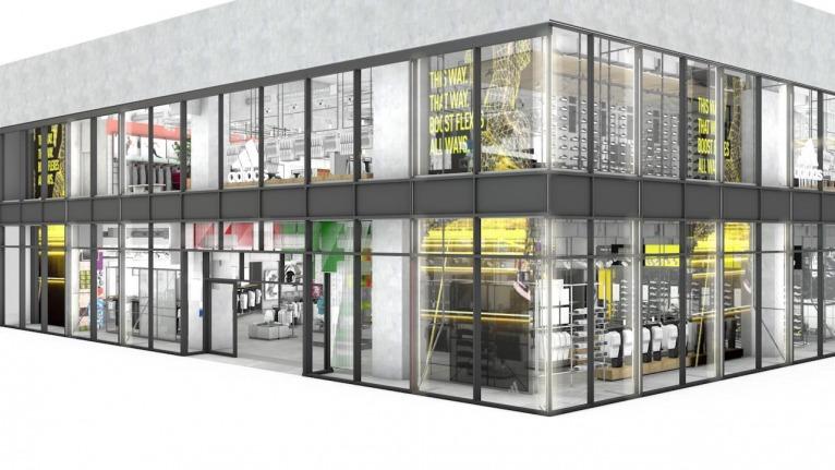 アディダス国内最大の直営店が東京・渋谷に誕生。7月28日にオープン。