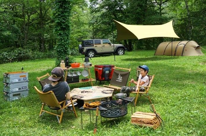 これが我が家のファミリーキャンプ!~@sandberg819さん家のリアルに密着~