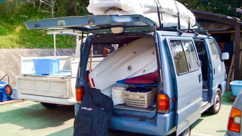 車内の荷物の積み方や注意点 〜最終回〜