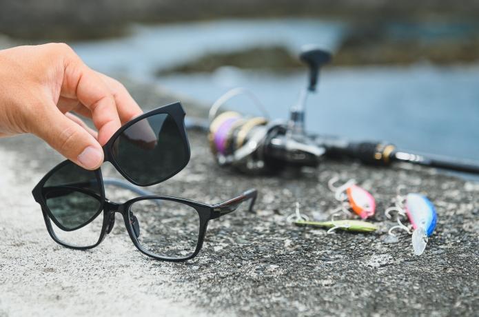 【ワンタッチで偏光へ】JINS Switchというサングラス、やっぱり釣りにベストな逸品でした。