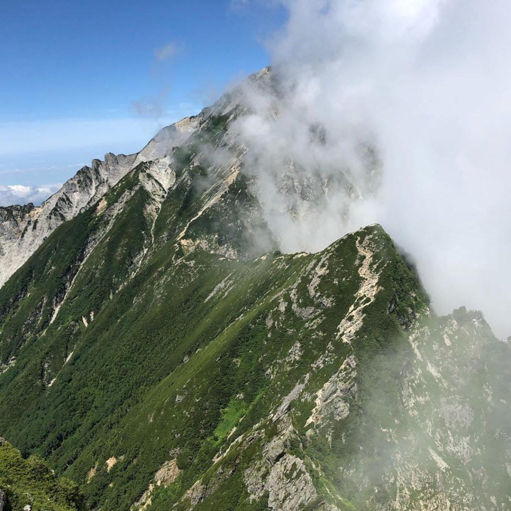 白馬岳から唐松岳の登山ルート・難易度