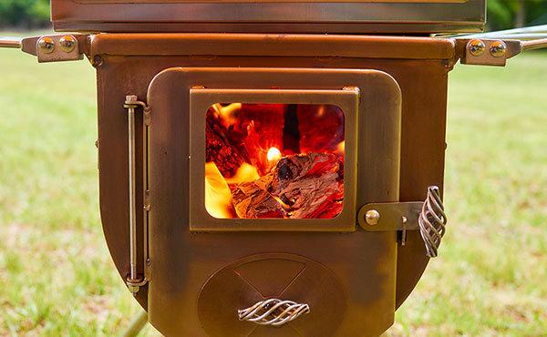 薪ストーブで暖かく安全で快適なキャンプをしよう!