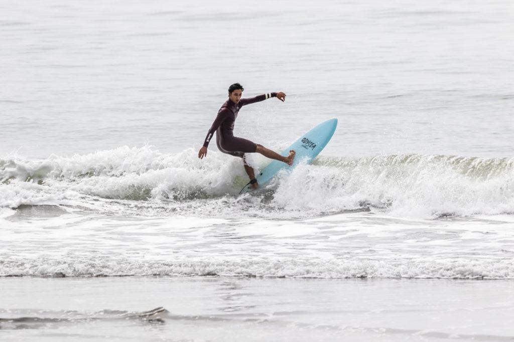 「CATCHSURF」の「ODYSEA 5'8″JOB PRO QUAD」を河村海沙がIMPRESSIONS