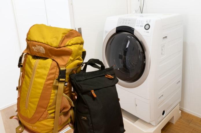【登山・旅行用リュック】は洗濯機or手洗い?素材別ベストな丸洗い方法を大公開