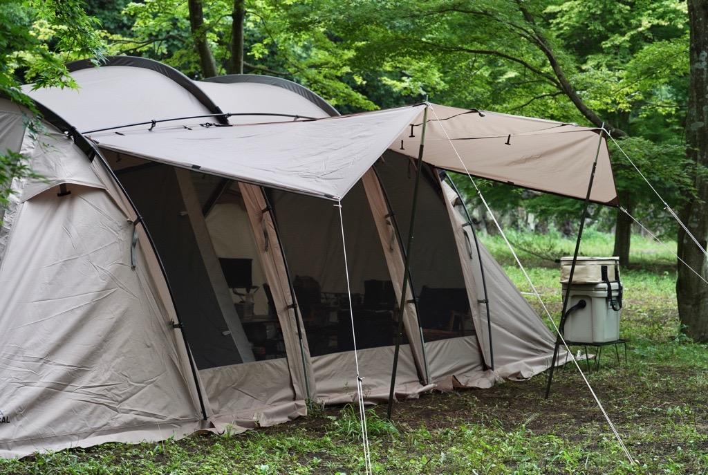 全天候対応のファミリー向け大型テント サバティカルのアルニカってこんなテント